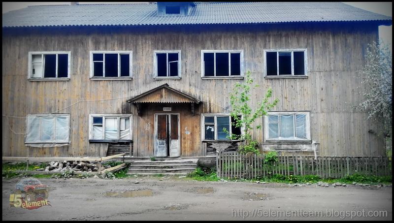 Общежитие в селе Осмолода