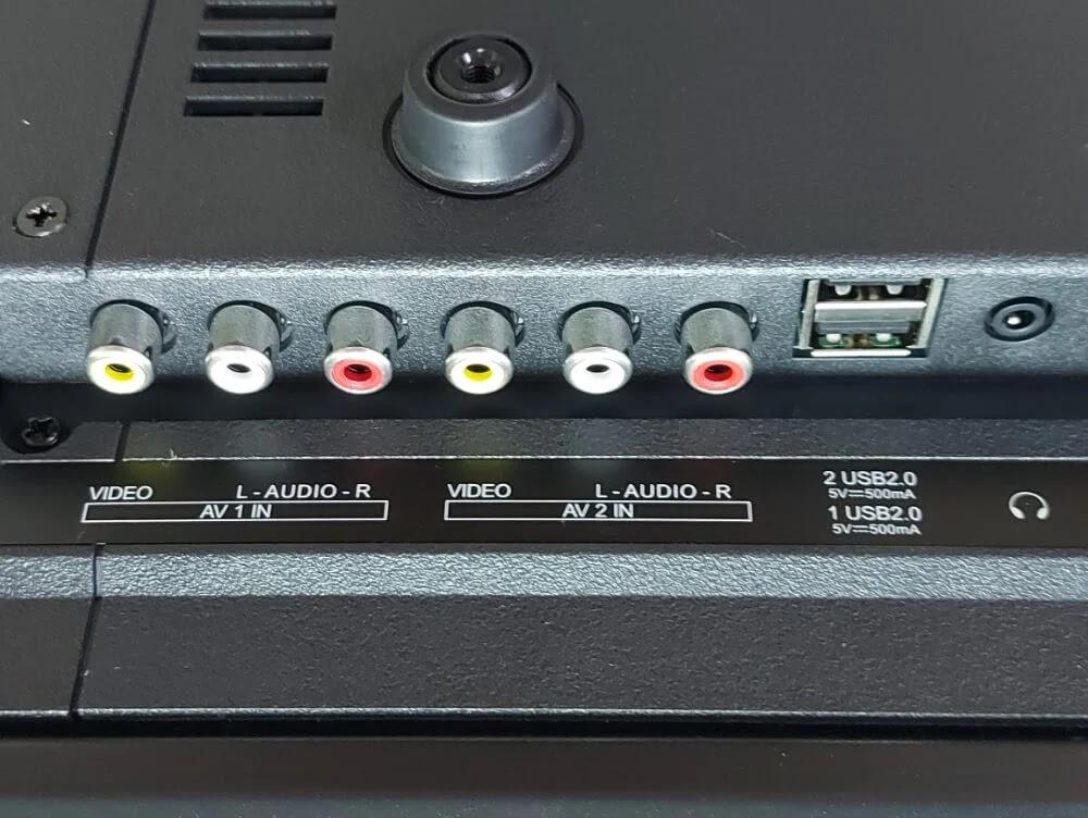 ACE 32-Inch Slim LED TV (LED-808 DN4) USB Ports