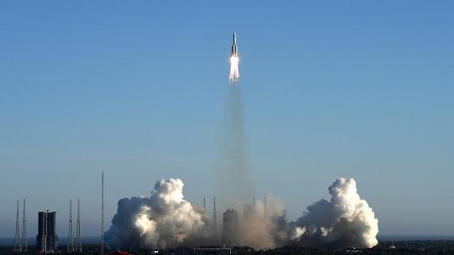 Mengorbit 2 Hari 19 Jam, Pesawat Luar Angkasa Cina Balik ke Bumi