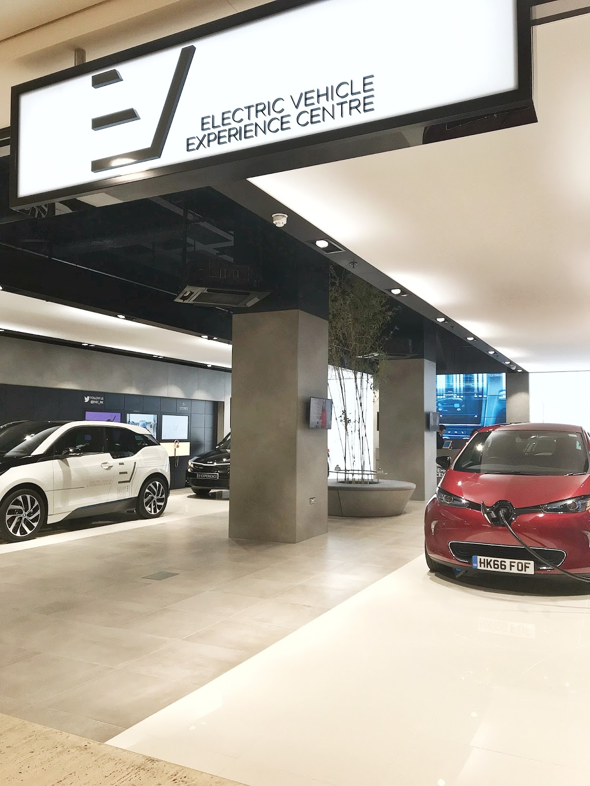 Electric Vehicle Experience Centre Milton Keynes