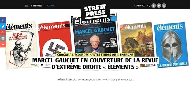 Marcel Gauchet EHESS Revue Eléments n°164