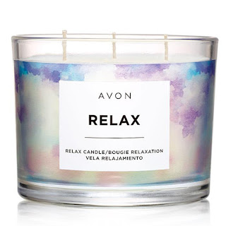 Avon Relax Candle #AvonRep