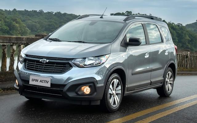 Novo Chevrolet Spin 2021