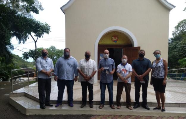 Segurança Cidadã de Olinda e organizadores da Festa do Santuário Mãe Rainha elaboram estratégia de segurança do evento