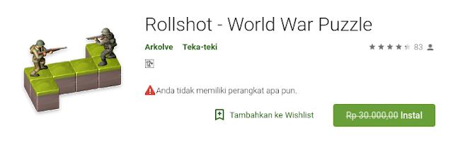 Rollshot - World War Puzzle (free sampai 18 Agustus)