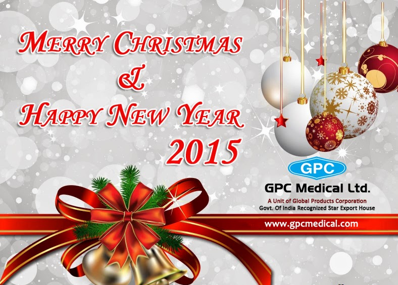Best wishes from GPC Medical for Christmas n New Year 2015