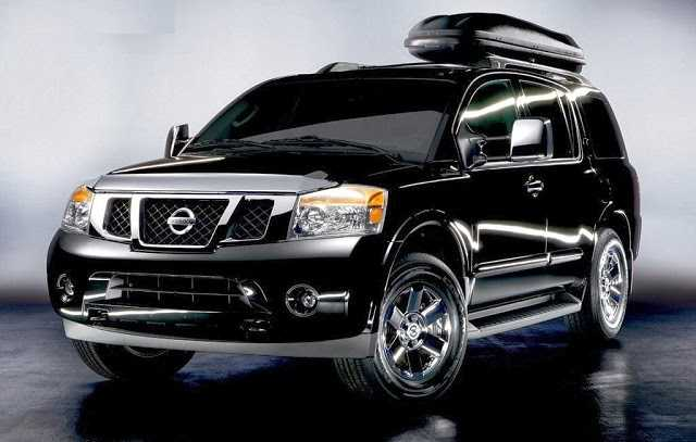 Model Cars 2017 Nissan Armada Changes