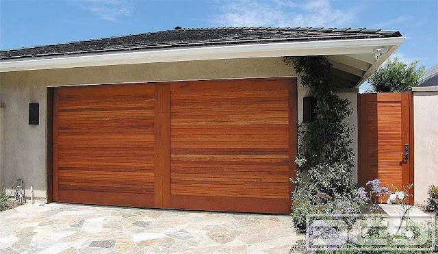 Mid Century Garage Door