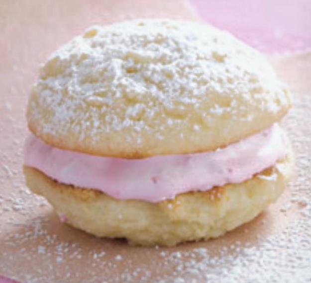 Almond-Raspberry Whoopie Pies