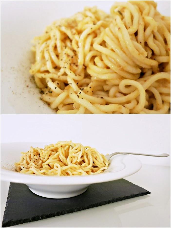Mie-Nuden mit Erdnuss-Saté