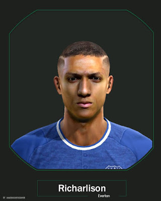 PES 2013 Richarlison Face by Ahmed Hassan