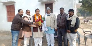 Jaunpur : ब्रह्मदेव मिश्रा को प्रदेश परिषद का सदस्य चुने जाने पर बधाई