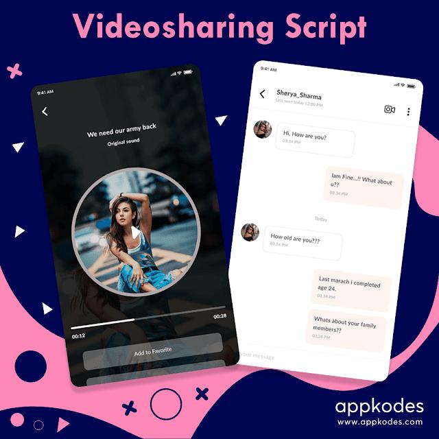 Video sharing script