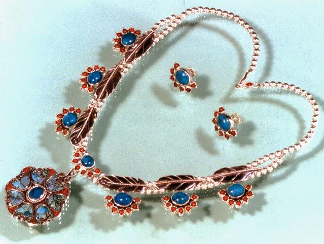 Eko-Ishwaaching Ishkode (The Eighth Fire) jewelry by Zhaawano Giizhik
