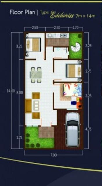 Floor Plan Flamboyan Suite Rumah 500 Jutaan Di Tengah Kota Medan Dekat Ke Ring Road Dan Setia Budi