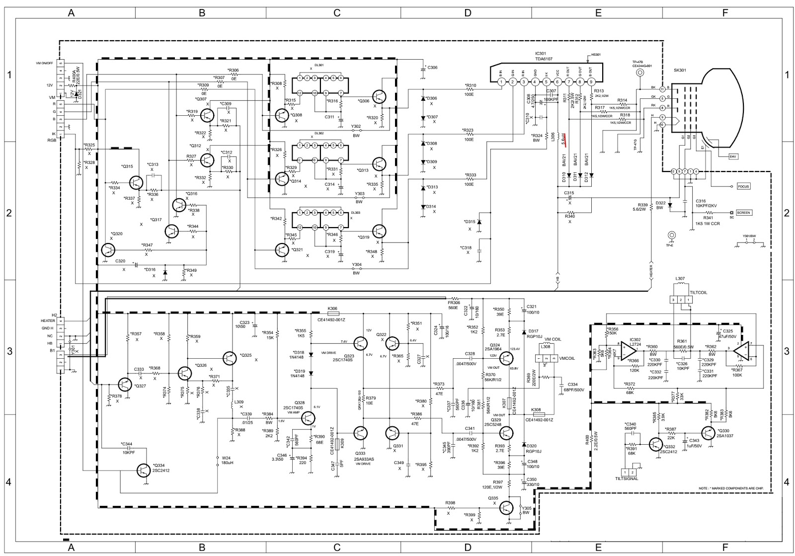 Lcd Tv Schematics Image