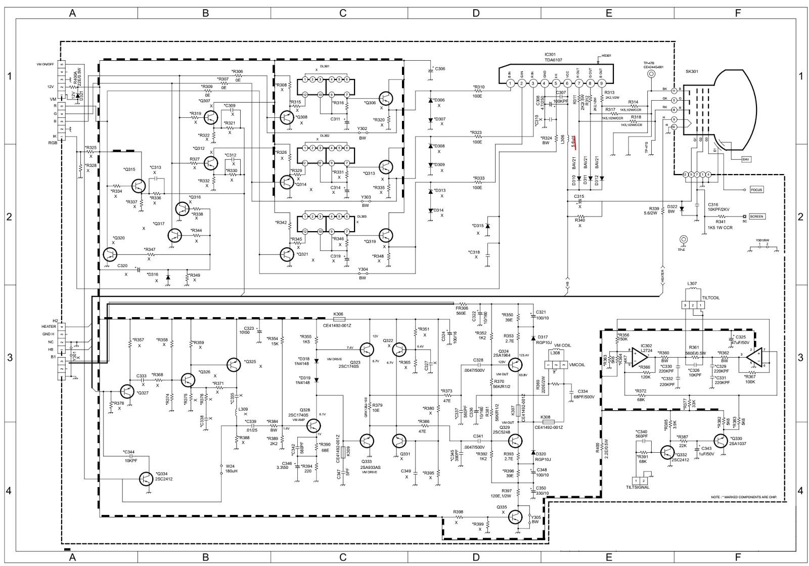 Master Electronics Repair !: ONIDA OXYGEN 29