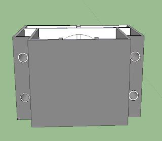 box speaker Sub dengan transmision Line menggunakan Paralon