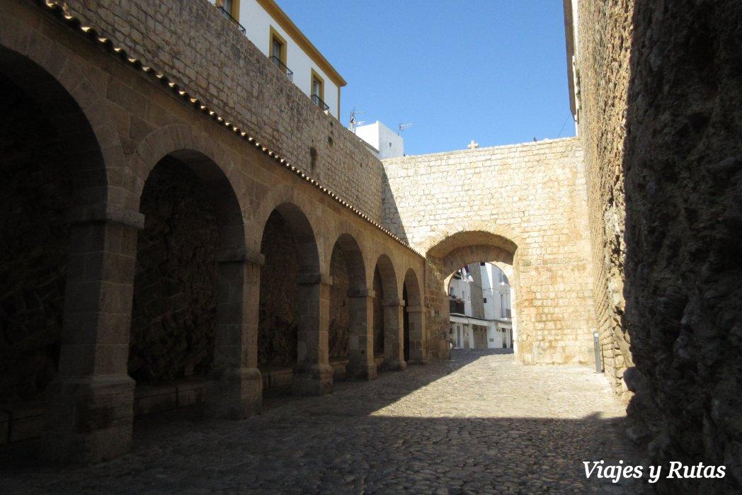 Patio de armas, Dalt Vila Ibiza