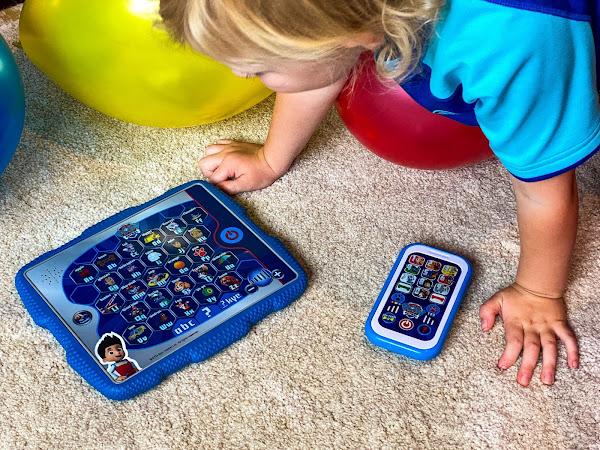 Review: PAW Patrol Learning Toys - Ryder's Alphabet Tablet and My First Smart Phone
