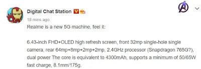 Realme RMX2176 key