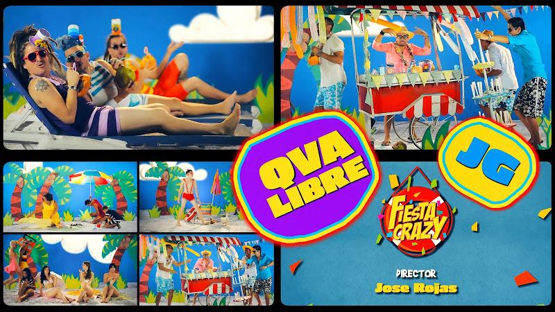 Qva Libre y JG Juan Guillermo - ¨Fiesta Crazy¨ - Videoclip - Dirección: Jose Rojas. Portal Del Vídeo Clip Cubano