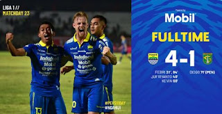 Persib vs Persebaya 4-1 Highlights
