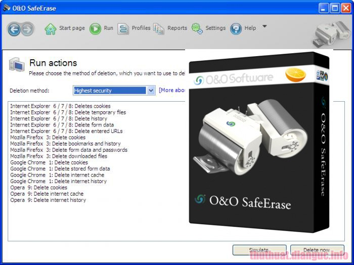 Download O&O SafeErase Professional 14.3.469 Full Crack
