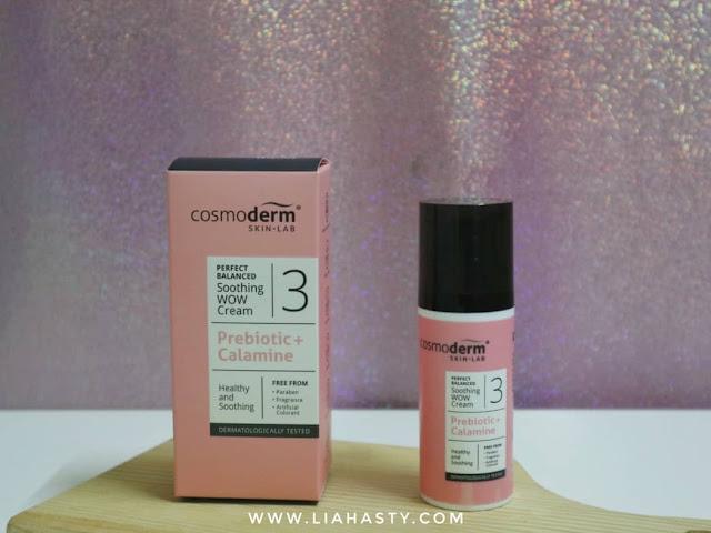 Produk Pinkish Baru Cosmoderm Perfect Balanced dari Cosmoderm