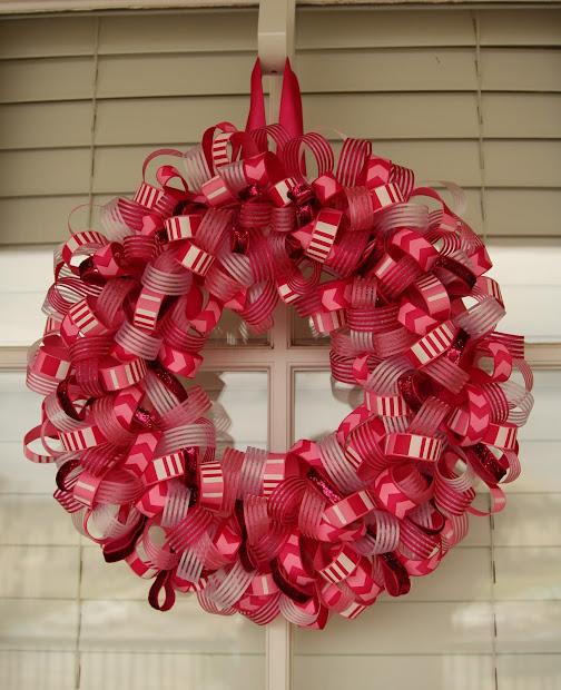 Living Charmed Life Ribbon Wreath Tutorial
