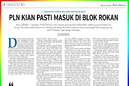 PLN is getting more and more sure to enter the Rokan Block