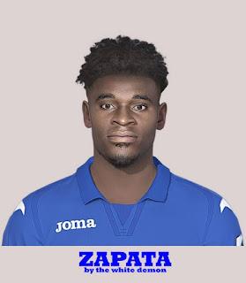 PES 2019 Faces Duván Zapata by The White Demon