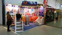 H&K Treppenrenovierung - Stand auf der Messe Dresden