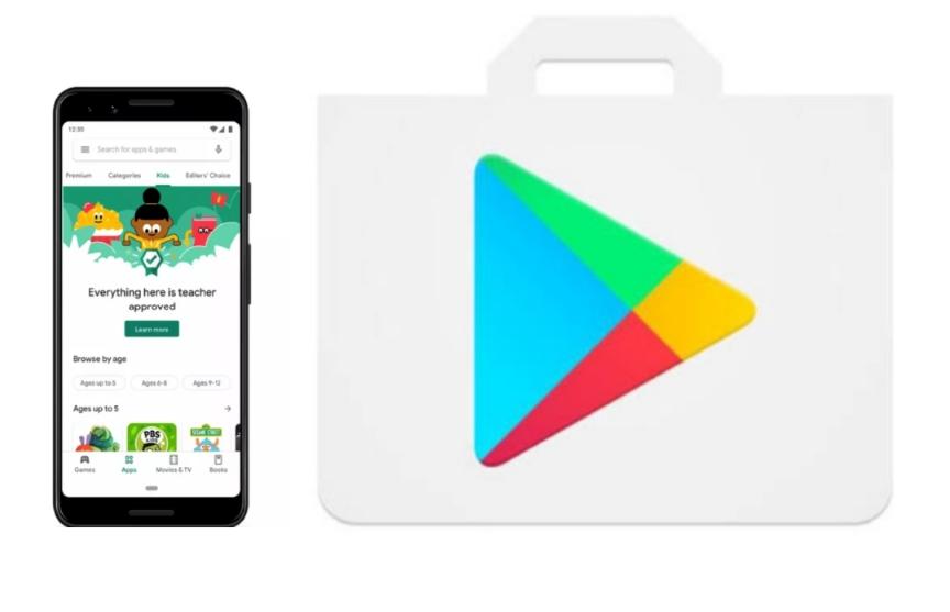جوجل تعلن عن ميزة جديدة في متجر جوجل بلاي مخصصة لمحتوي الاطفال - إبداع تقني