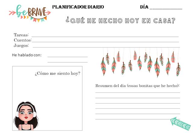 planificador niños ideas