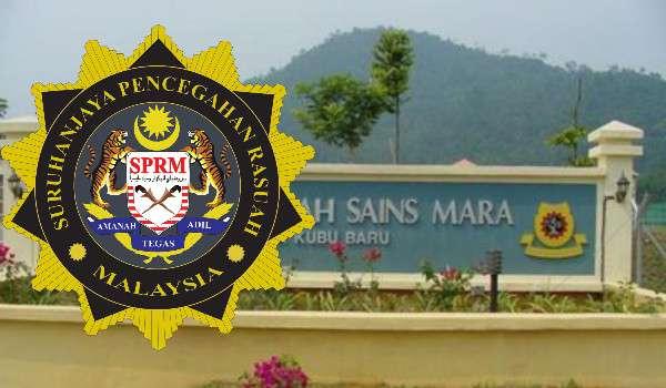 Timbalan Pengetua MRSM Kuala Kubu Bharu Dicekup SPRM