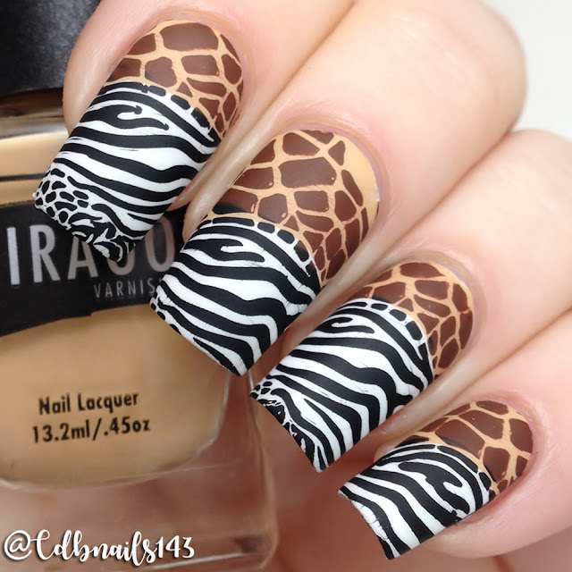 Whats Up Nails-Plate A006