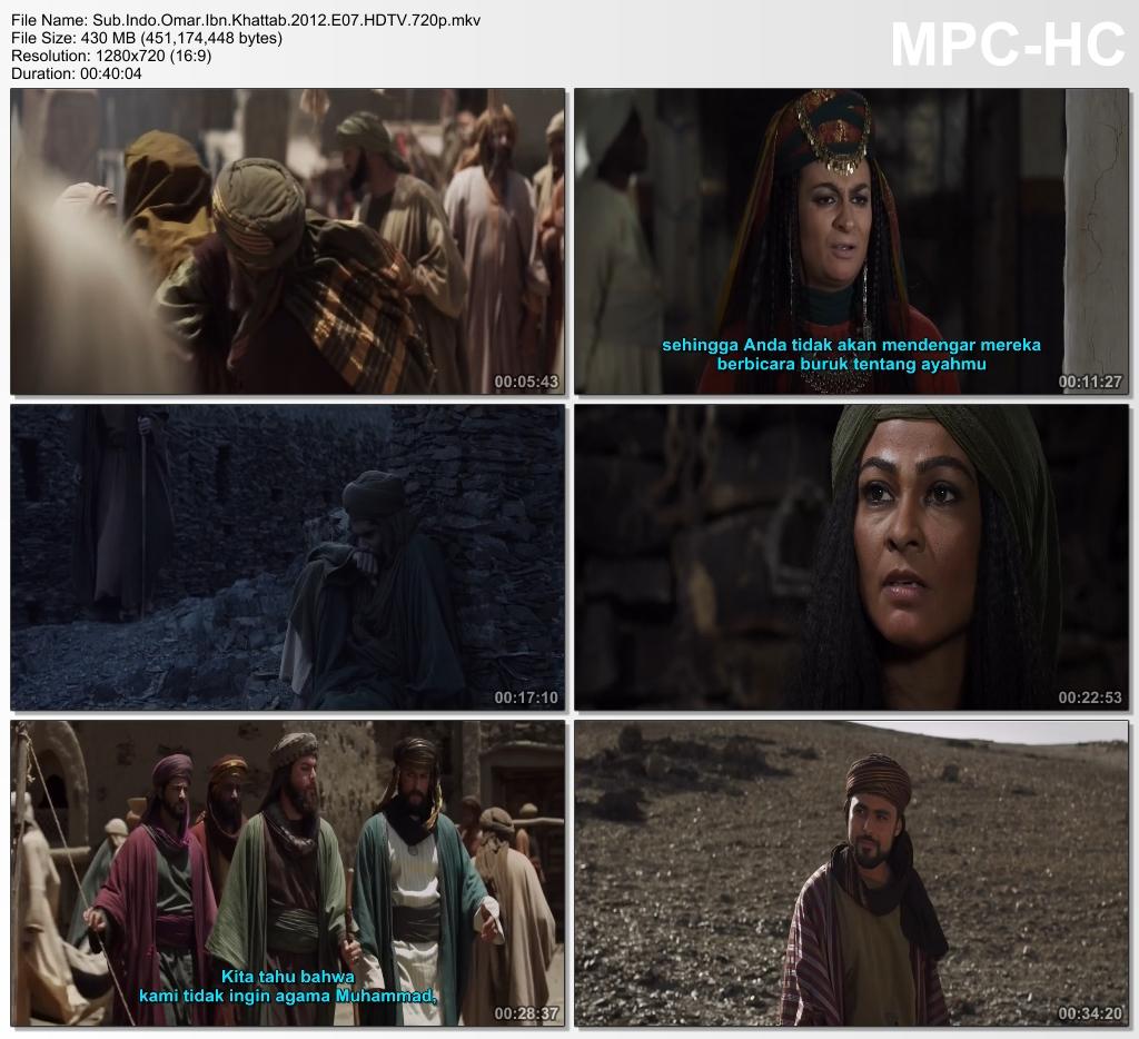 Screenshots Download Film Gratis Omar aka Farouk Omar aka Omar Ibn Al-Khattab (2012) HDTV 720p X265 HEVC Subtitle Indonesia MKV Nonton Film Gratis Free Full Movie Streaming