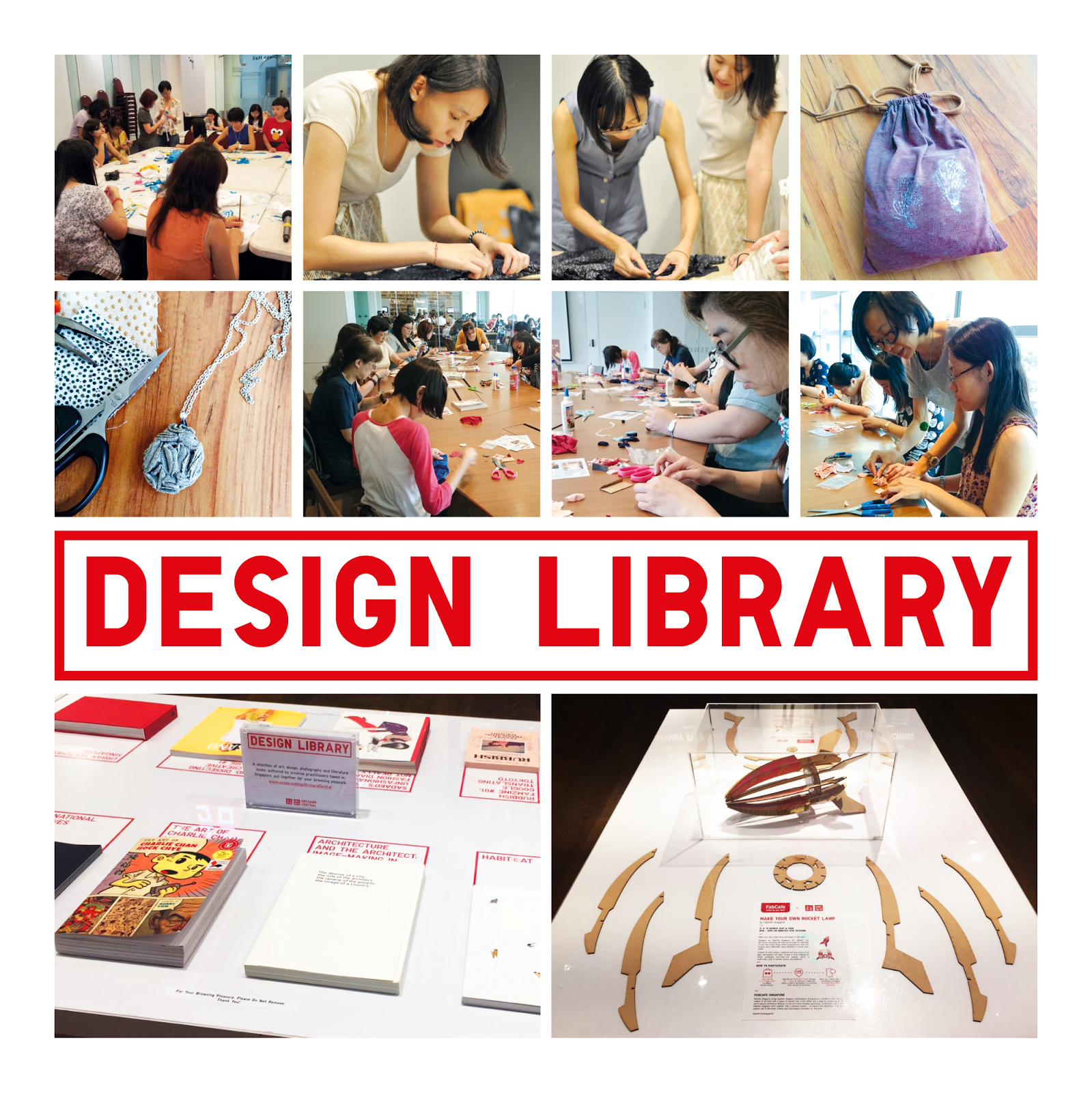 Uniqlo Design Library Workshops