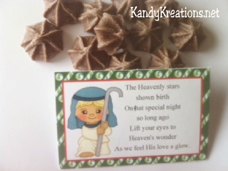 Celebrate Christ this Christmas with this Nativity Advent Calendar.  Day 5 consists of the Shepherd enjoying the stars on that first Christmas night as he tends his sheep and the angels sing.  This is the perfect gift for your neighbor, church class, or friends.