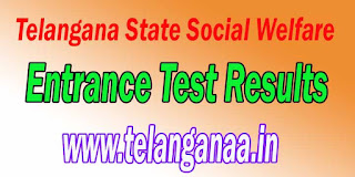 Telangana TSWREIS 6th Class Social Welfare Residential School Admission Test 2017