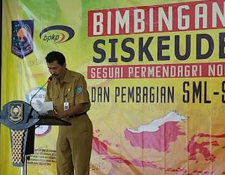 Kasubdit Sistem Informasi Keuangan dan Aset Desa, Dr. Nasrullah,S.Sos, M.Si., Dok: Makmur Sumarsono