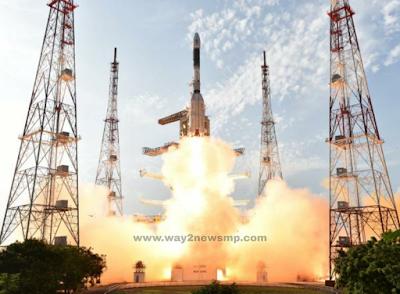 Chandrayaan-2 लॉन्चिंग की गई तस्वीर