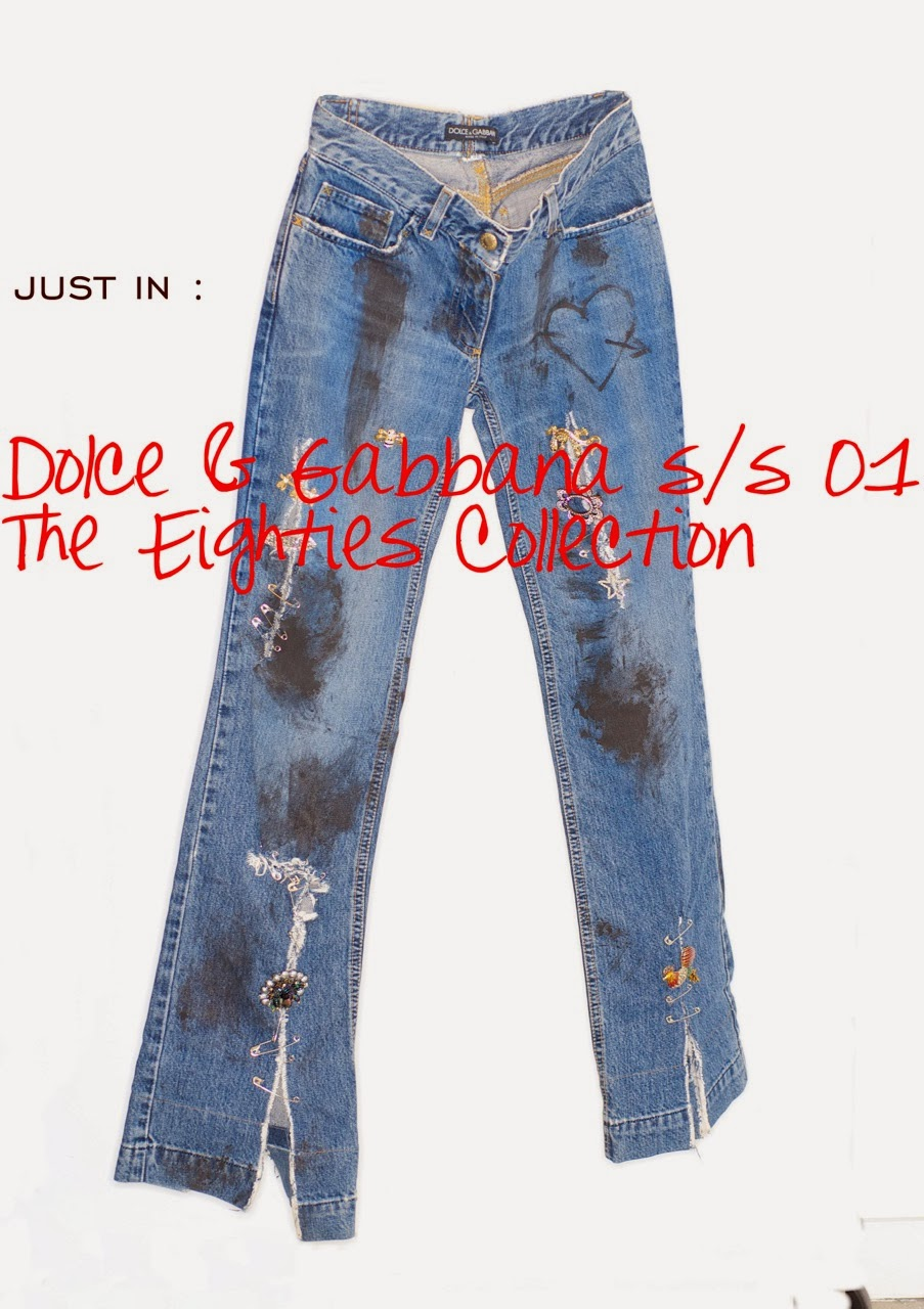 Rare Vintage  Just in at RARE vintage  Dolce   Gabbana Slashed ... b49b1c9ad