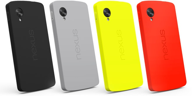 newest 5c81e 2d4c9 Buy Bumper cases and QuickCovers for Nexus 5 from Google Play ~ THE ...