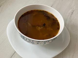 Zupa flaczki z grzybów