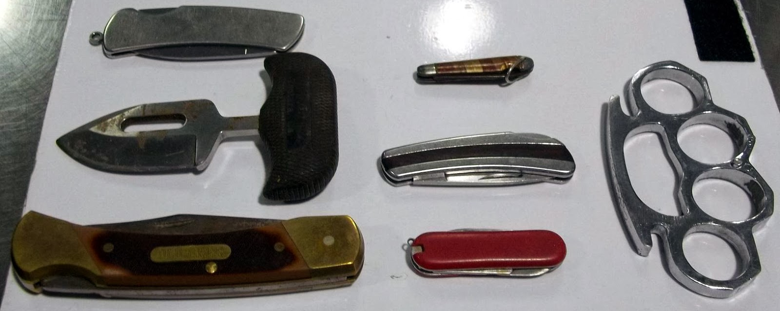 Knives Discovered in One Passenger's Bag at CLT