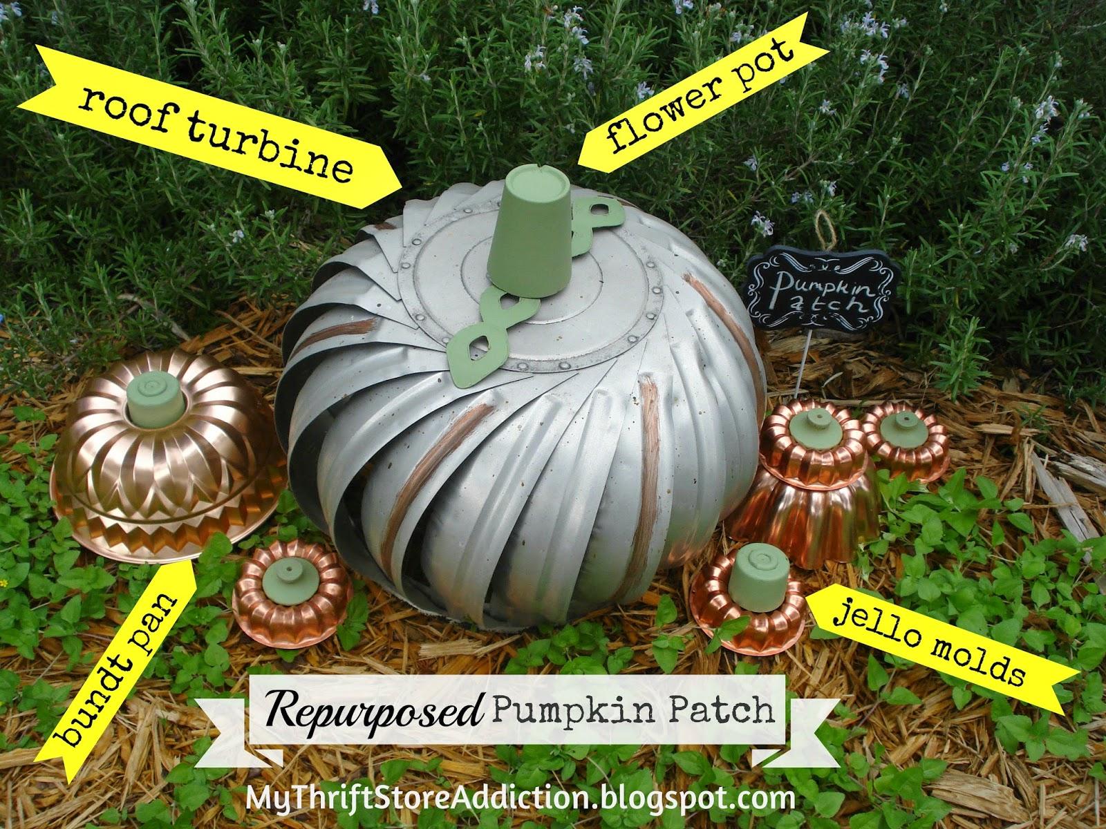 Repurposed pumpkin patch