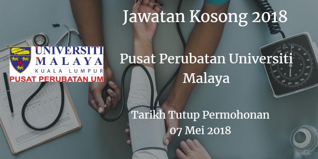 Jawatan Kosong PPUM 07 Mei 2018