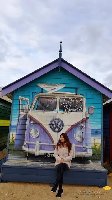 Melbourne Brighton Bathing Boxes